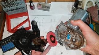 Шестерня редуктора заднего дворника Opel Zafira A на 3D принтере👈
