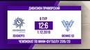 Чемпионат Дивизион Приморский Ленэнерго Феникс 53 12 6 видеообзор