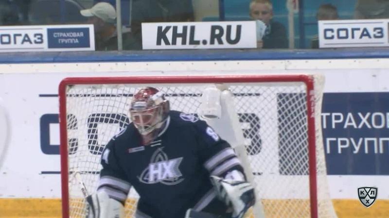 Моменты из матчей КХЛ сезона 17/18/19 • Удаление. Дерек Смит (Медвешчак) получил 2 минуты за выброс шайбы 06.09