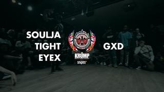 Soulja Tight Eyex vs GRICHKA   Male Preselection Round   EBS Krump 2019