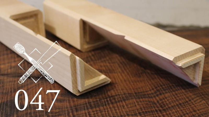 Joint Venture Ep. 47: Blind and stubbed diagonal half lap Hako tsugi (Japanese Joinery)
