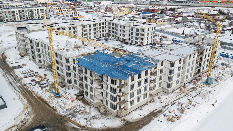 Отчёт о ходе строительства март 2020. ЖК «Ожогино», изображение №11