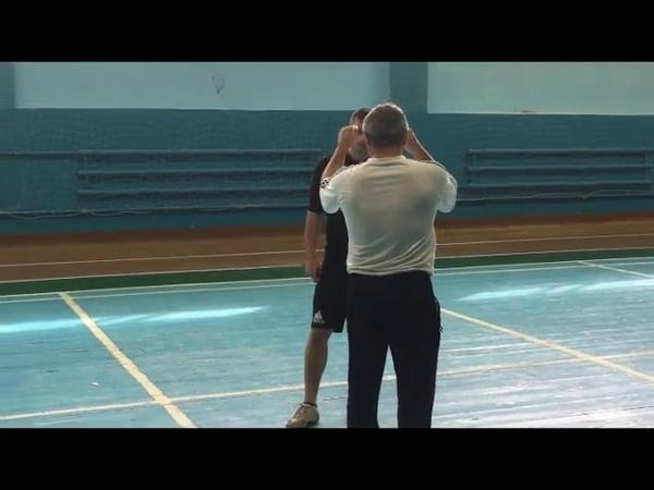 защита от удара ногой снизу и сбоку бпб приемы мвд полиция 2018