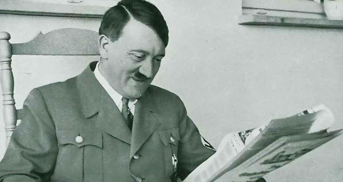Фюрер знакомится с прессой
