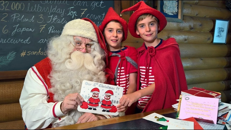 Best letters to Santa Claus in Rovaniemi Lapland Finland - Post Office of Father Christmas
