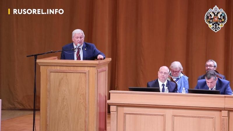 Будущее у России возможно только тогда, когда вера встанет на первое место