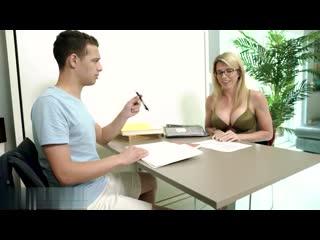 Выебал репетитора Cory Chase [Porno Blonde Blowjob Tits Ass Sex Hardcore wife slut mom student teacher мамка порно училка]