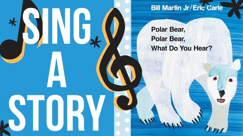 Polar Bear Polar Bear What Do You Hear Sing a Story Sing Along Song