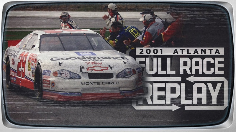 NASCAR Classic Race Replay Kevin Harvick's emotional first win at Atlanta Motor Speedway