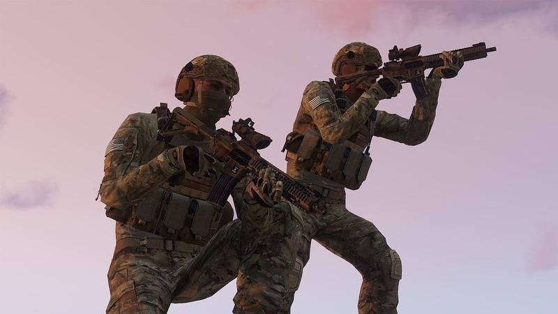 Отделение 75 х рейнджеров США попали под обстрел в Афганистане Арма 3 Тушино Arma 3 Tushino