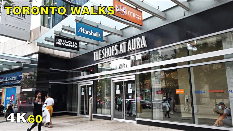 Downtown Toronto's Dead Mall The Shops at Aura Walk on Sept 3 2020 4K