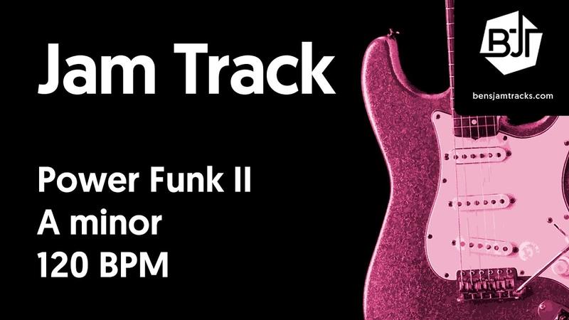 Power Funk II Jam Track in A minor - BJT 49