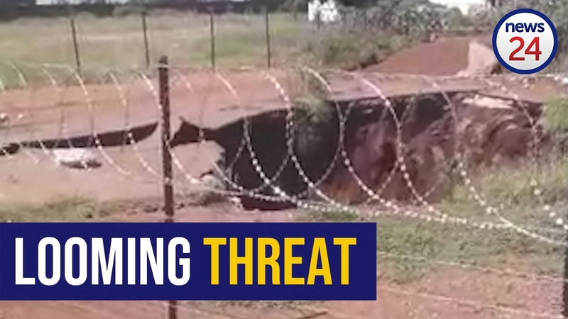 WATCH Khutsong family stand their ground despite threat of massive sinkhole destroying their home