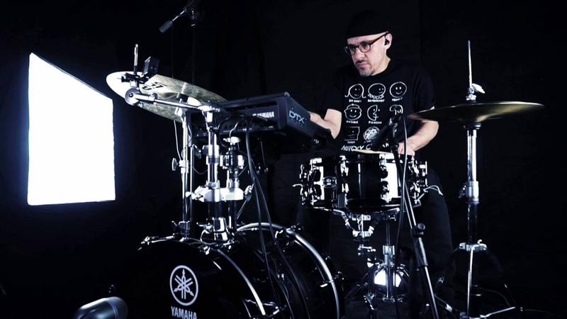 Yamaha Drum - Set ibrido Live Custom con DTX MULTI12 X