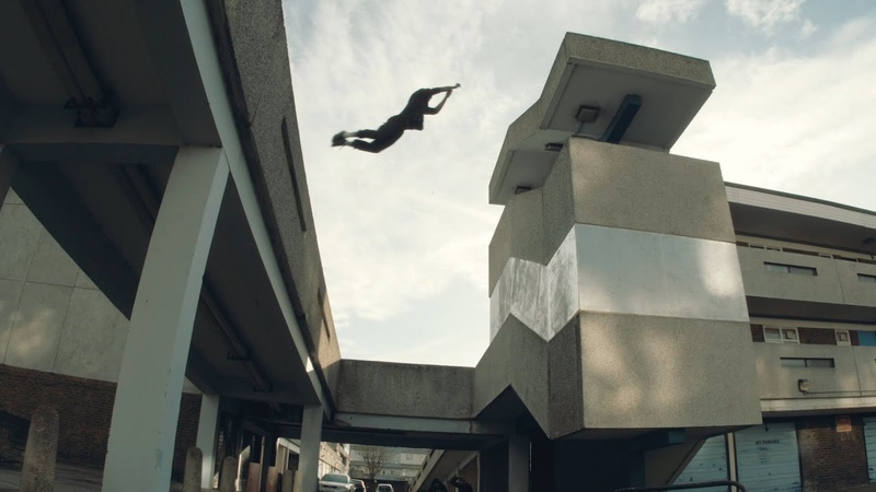 Parkour in London's Dying Estate RIP Thamesmead 🇬🇧