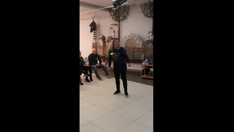 Ешь, ананасы, рябчиков жуй! Упражнение на высокую энергетику речи. Тренинг Харизматичный оратор, Петрозаводск, 16.09.19