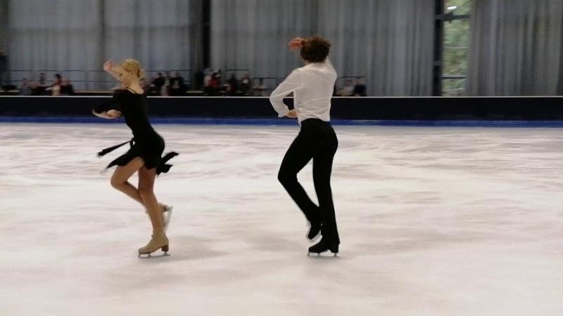 Ксения Конкина / Павел Дрозд - ритм танец. NRW Summer Trophy 2019