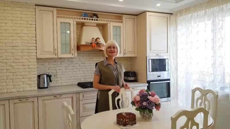 Видеообзор кухни Сергея и Катерины
