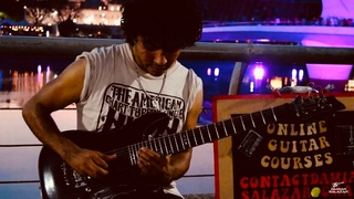 Guns N' Roses - Don't Cry - Amazing street guitar performance - Cover by Damian Salazar