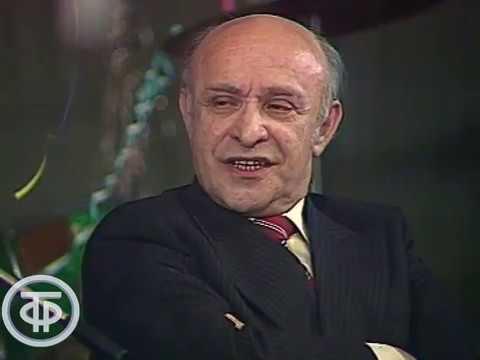 Четвертый гриб во втором составе Ролан Быков и Леонид Калиновский Театральные встречи 1980
