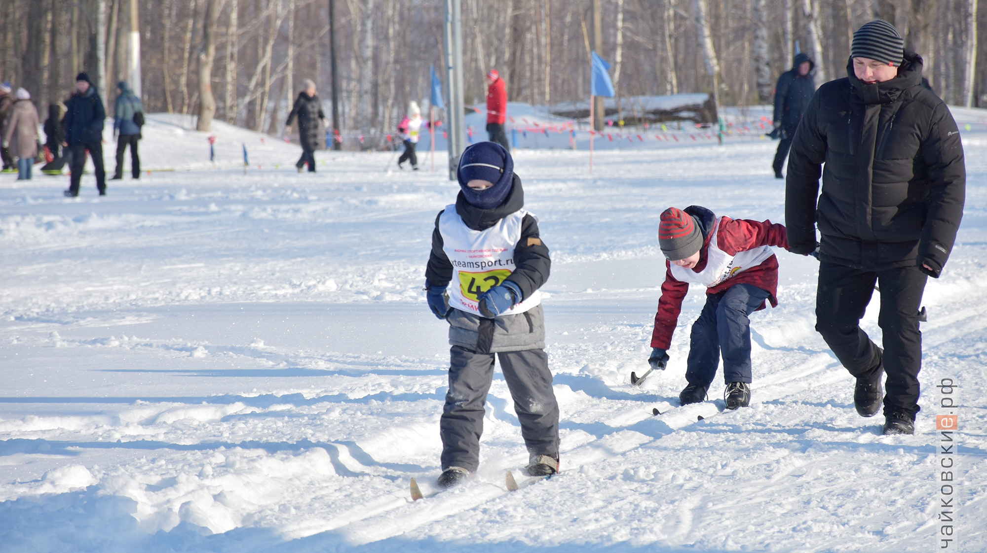 лыжня россии, чайковский район, 2020 год