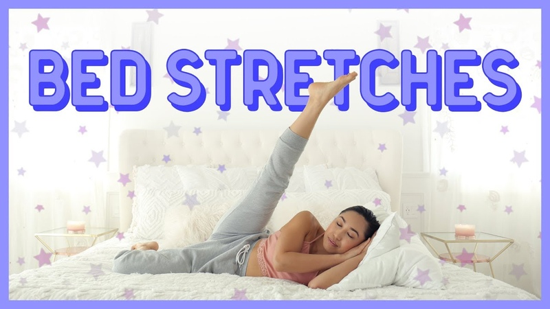 Relaxing stretches for better sleep increased flexibility (you can do in bed!)