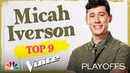 Micah Iverson: Death Cab for Cutie's I Will Follow You Into the Dark - Voice Top 9 Performances