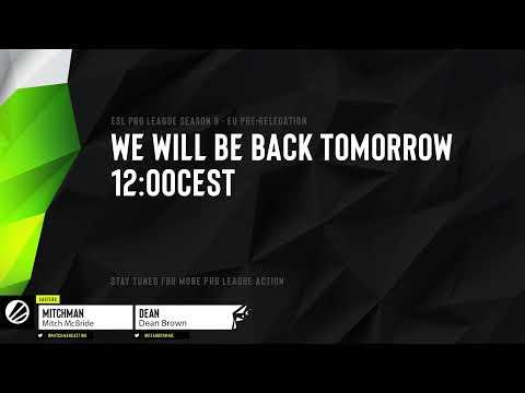 Live: EU Pro League Relegation S9 - Day 2 - Heretics vs Windigo | BO5