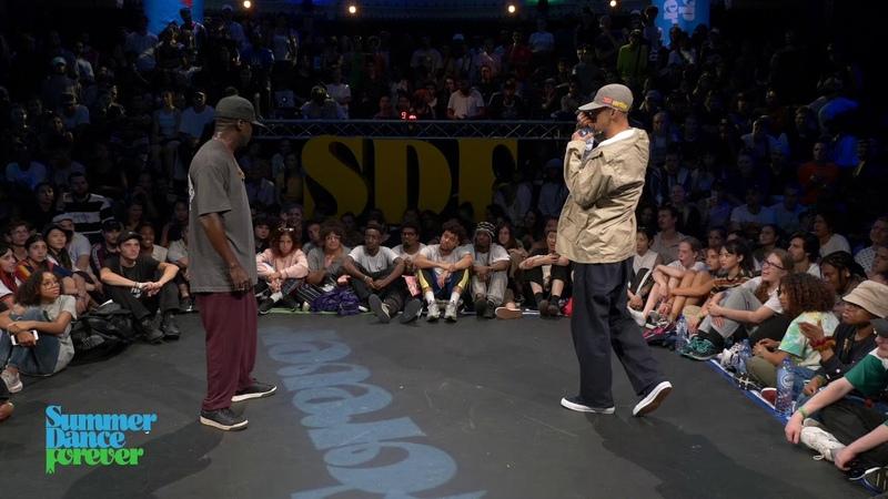 Joseph Go vs oSaam JUDGE BATTLE Hiphop Forever Summer Dance Forever 2019