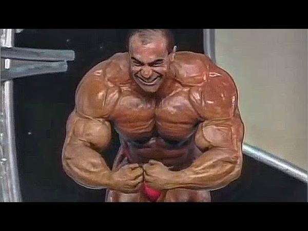 Nasser El Sonbaty Posing in His Best Shape An Uncrowned Mr Olympia