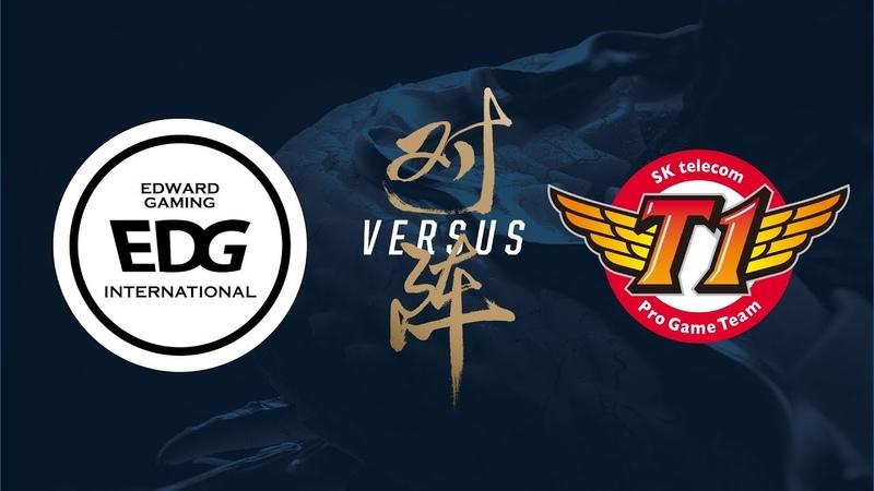 EDG vs. SKT   Group Stage Day 2   2017 World Championship   Edward Gaming vs SK telecom T1
