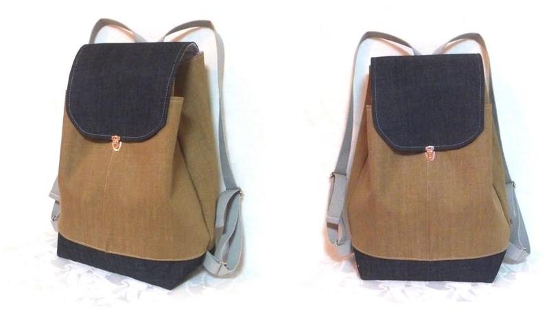 フラップ リュック の作り方 🎒✨ Flap Back Pack Tutorial.