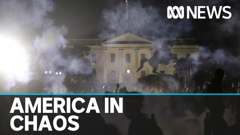 United States descends into chaos as clashes between protesters and police escalate ABC News