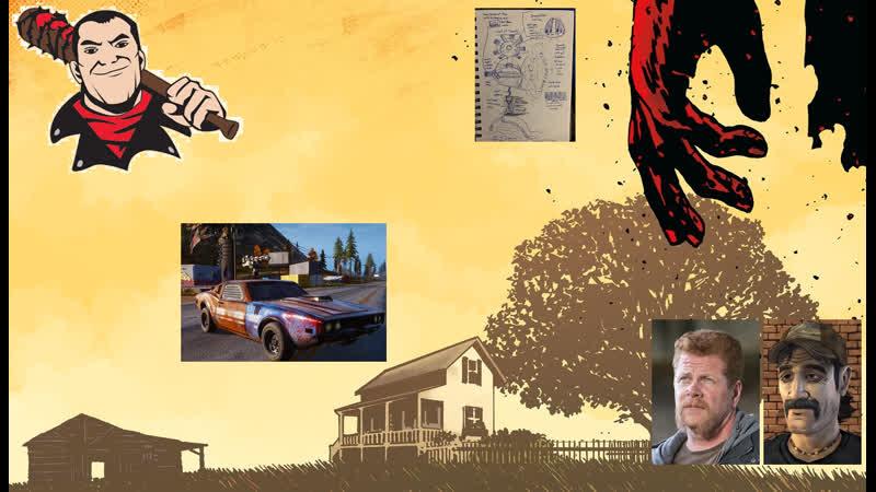 Интересные новости Кента Мадла Часть 16 The Walking Dead