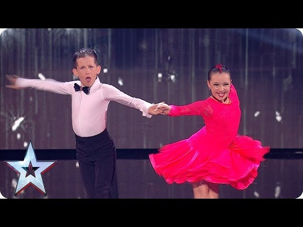 Dinky dancing duo Lexie and Christopher DAZZLE in the Semi-Finals! | Semi-Finals | BGT 2018