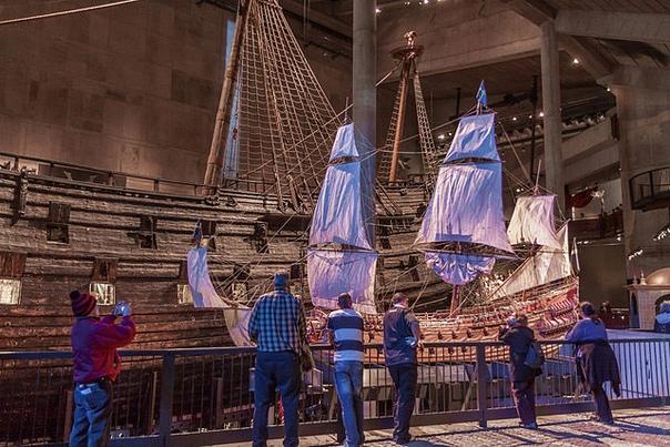 Vasa  единственный в мире сохранившийся корабль постройки XVII века