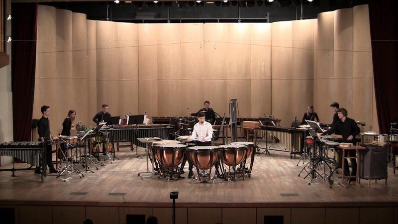 Summons by Nicholas Papador Gnesin percussion ensemble