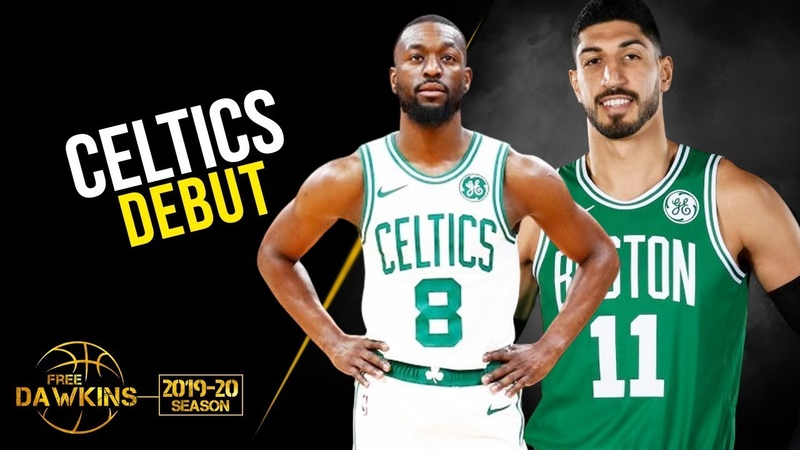 Kemba Walker x Enes Kanter Celtics Debut 2019 10 06 vs Hornets FreeDawkins
