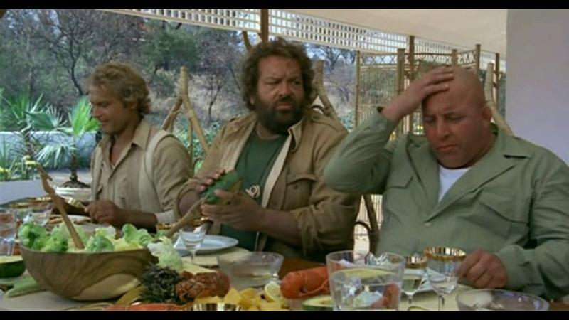 Bud Spencer Terence Hill Estoy con los hipopotamos Mejores momentos