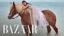 Chic Unconventional Beach Wedding Dresses | Harper's BAZAAR