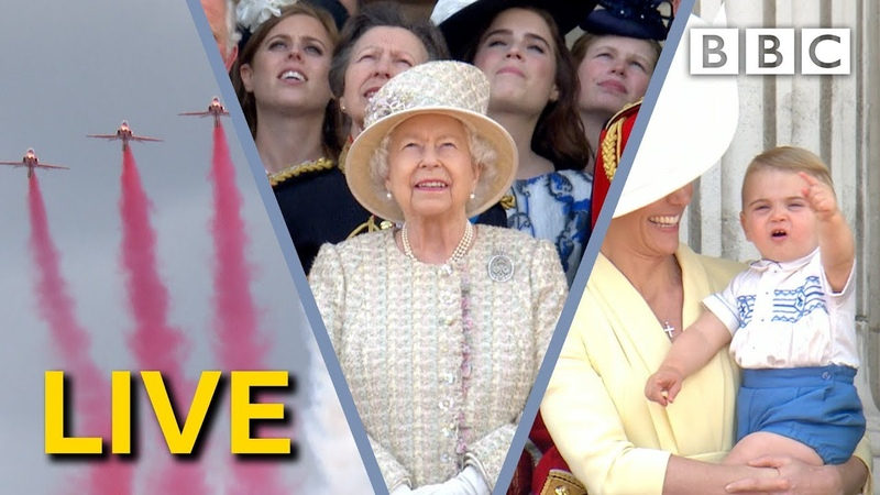 Trooping the Colour LIVE 2019 The Queen's Birthday Parade BBC