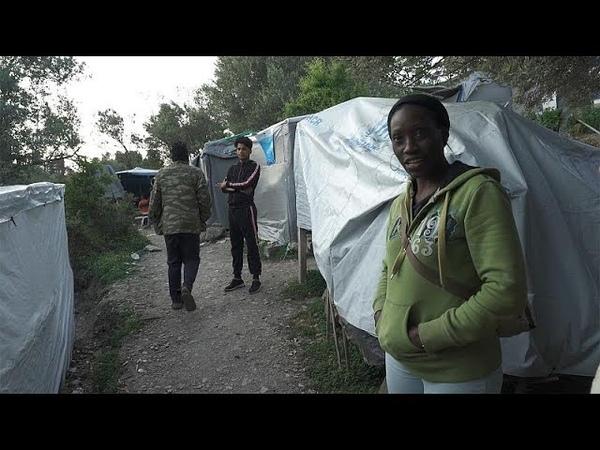 Flüchtlinge auf Samos Überlebenskampf im Dschungel