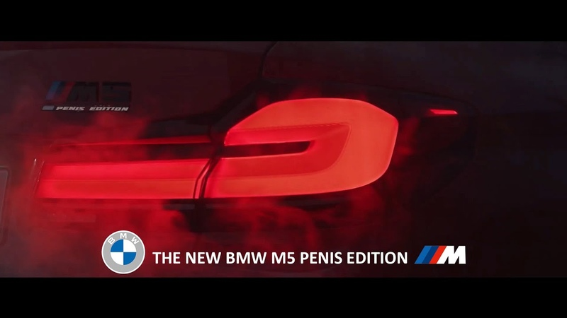 Older than ever The new BMW M5 Penis Edition