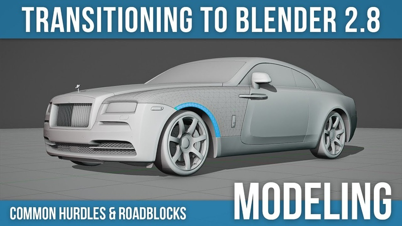 Moving from Blender 2.7 to 2.8: Modeling Texturing Tips