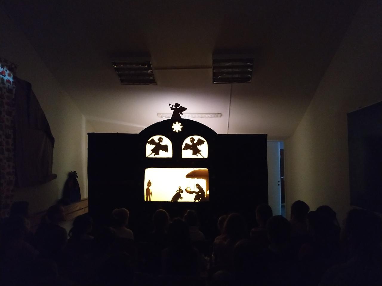 Рождественское представление в Воскресной школе храма святых Космы и Дамиана