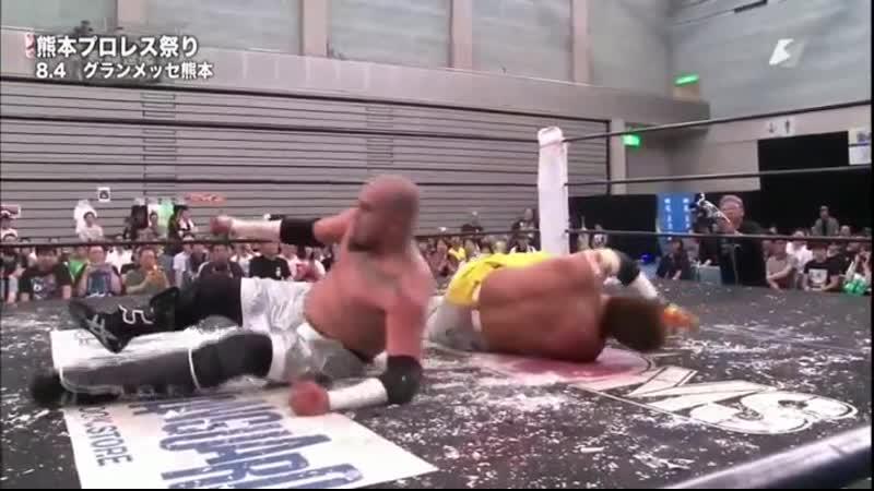 Ciclope Miedo Extremo vs. Isami Kodaka Yuko Miyamoto [Light Tubes Tower Death Match] - Highlights
