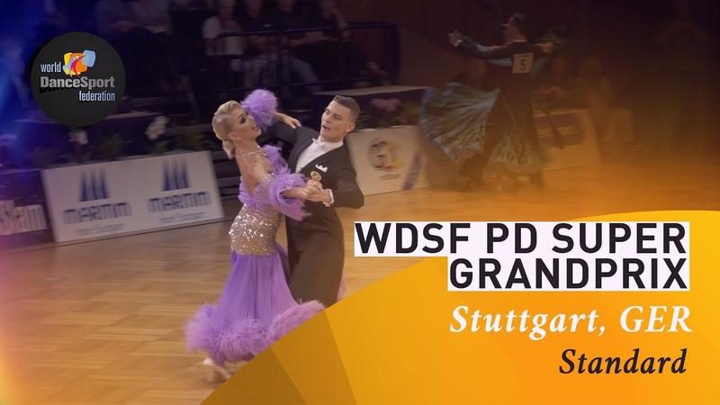Zharkov - Kulikova, RUS | 2019 WDSF PD Super GP STD Stuttgart | R2 VW