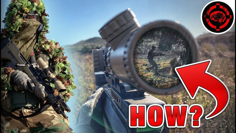 View Through The Sniper's Scope (Dual POV Sniper / Spotter Team Destroying)