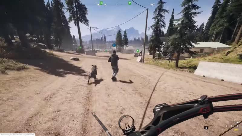 Смешной момент в игре Far Cry 5 (Raden) - Уёбищный