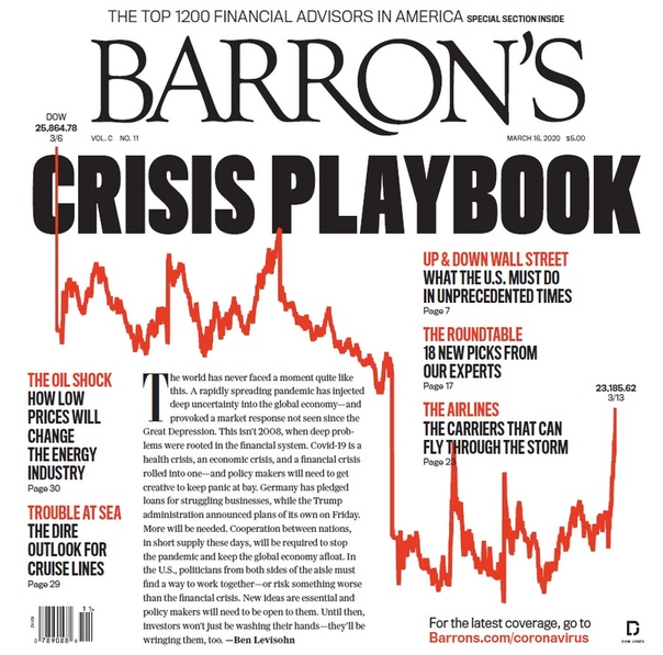Barrons - March 16 2020